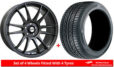 """Alloy Wheels & Tyres 18"""" Calibre Suzuka For Ford Tourneo Courier 14-19"""