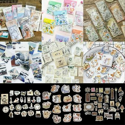 Korean Diary Label Stickers Cartoon Cute Scrapbooking Journal DIY Stickers Decor