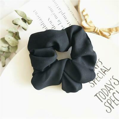 Solid Color Scrunchies