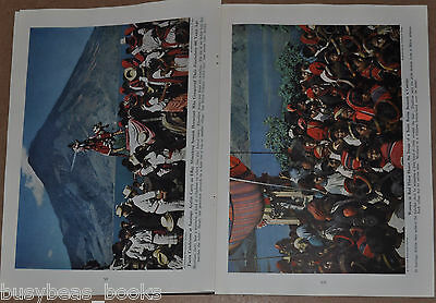 1945 magazine article about GUATEMALA, Natives, geography etc color photos