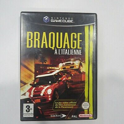 Braquage A L Italienne Nintendo Gamecube Complet