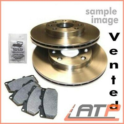 Brake Discs + Brake Pad Front Ventilated Ø280 Vauxhall Combo Mk 2 Ii C From 2001