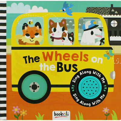 The Wheels on the Bus - Sing Along Board Book (Hardback), Children's Books, New