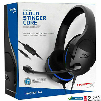 Hyperx Cloud Stinger Core Gaming Headset For PS4 Playstation 4 Nintendo Switch X