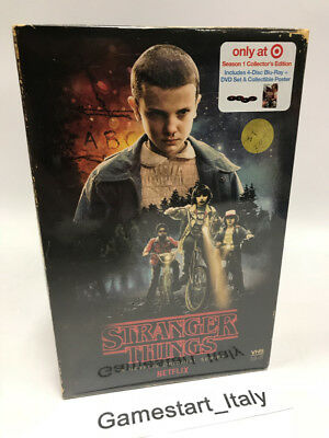 Stranger Things Season 1 Collector's Edition - Blu Ray & Dvd - Vhs Retro Pack