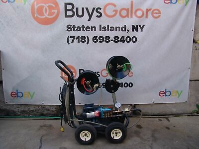 Jetter Cleaner Water Jet Sewer Snake Drain Pipe  Works Great