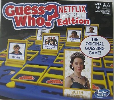 Guess Who? Hasbro Board Game Netflix Fysee Fyc Edition Rare Promo Only New!!