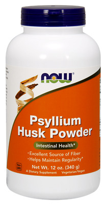 Psyllium Husk Powder Now Foods 12 oz Powder