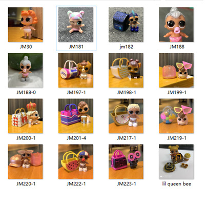 New LOL Surprise Dolls LiL Sisters unicorn queen Bee LILs MAKEOVER toy Gift