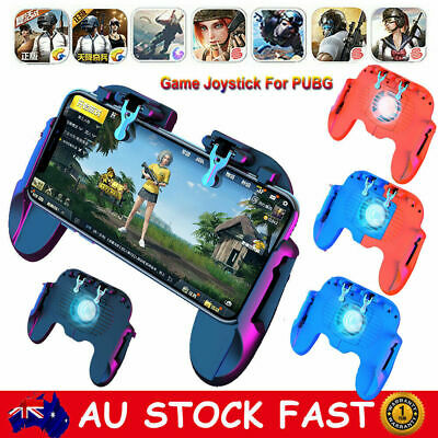 Mobile Phone Game Controller Trigger Gaming Gamepad Joystick Shooter For PUBG AU