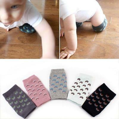 Kids Baby Knee Pad Infants Toddlers Protector Safety Crawling Elbow Cushion  SU