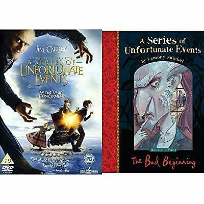 A Series of Unfortunate Events Book and DVD Bundle, , Used; Very Good Book