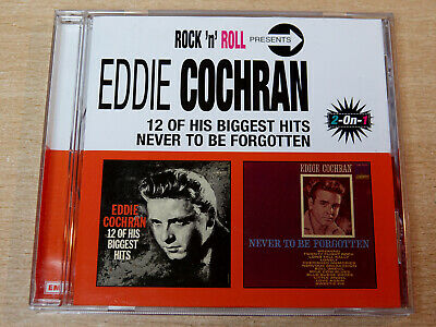 Eddie Cochran/12 Of His Biggest Hits/Never To Be Forgotten/2001 CD Album/2 In 1