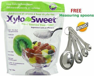 XyloSweet Non-GMO Xylitol Natural Sweetener, Granules, 5lb Resealable 5 lb
