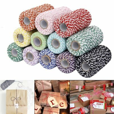 Bakers Christmas Cotton Cords DIY Rope Packing Craft Projects Twine String