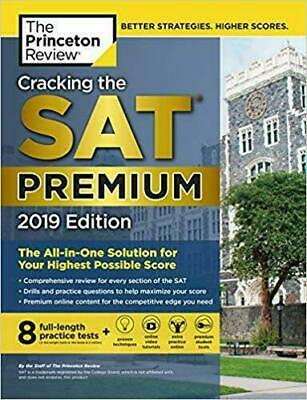 Cracking the SAT Premium Edition with 8 Practice Tests, 2019 (Ebo0k file p.d.f)