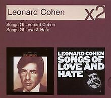 Songs of Leonard Cohen/Songs of Love and Hate von Leonard ... | CD | Zustand gut