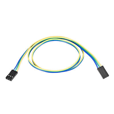 Jumper Wires 3-Pin Female to Female 50cm Ribbon Cables for Breadboard Arduino