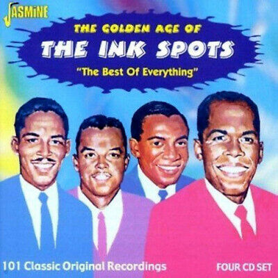 The Ink Spots : Best of Everything, The - 101 Classic Recordings CD 4 discs