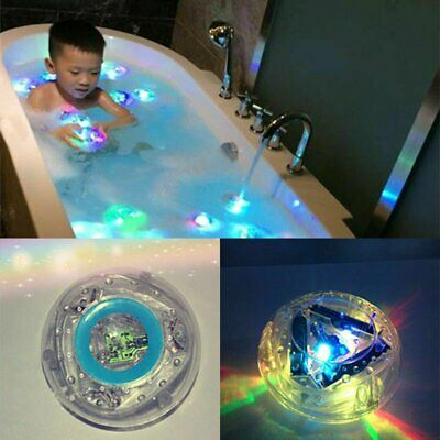 Baby Kids Bath Tub LED Light Toys Color Changing Waterproof Swimming Shower Toys