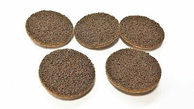 "3M 2"" Roloc Coarse Surface Conditioning & Deburring Disc 619-125 [Lot of 5] NOS"
