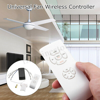 Universal Ceiling Fan Lamp Remote Control Kit Timing Wireless Control
