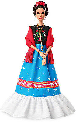 Barbie Inspiring Women Frida Kahlo Doll Kid Toy Gift