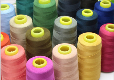 Wholesale 3000 Yards Quality Overlocking Sewing Machine Polyester Thread Cones&&