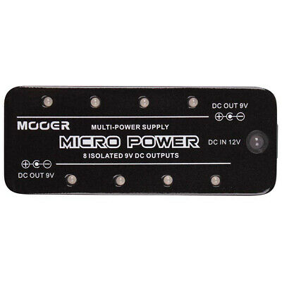 Mooer Micro Power 8 Port 9V Guitar Effects Pedal Power Supply High Performance