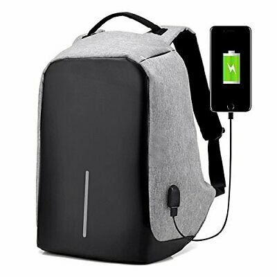 NEW Anti theft Backpack Laptop Travel Bag USB Charging BEST PRICE FREE SHIPPING