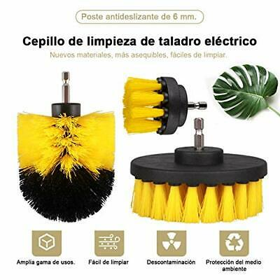 Swonuk Drill Brush Cepillos para el Taladro, 3pcs Electric Drill Brush 2