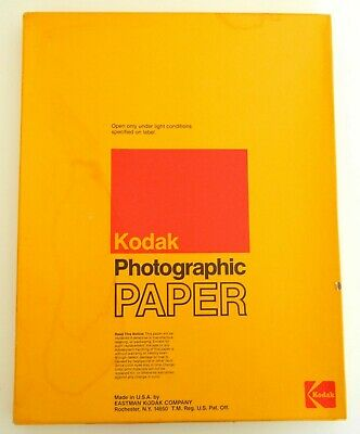 Vtg NOS Sealed 50 SHEET Box KODAK Ektacolor 78 Color 11x14 PHOTO Printing PAPER