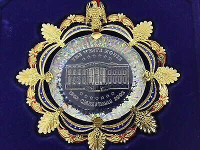 2002 White House Historical Association Christmas Ornament Collectible Boxed EUC