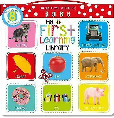 My First Learning Library (Scholastic First Steps) by Scholastic Inc., NEW Book,