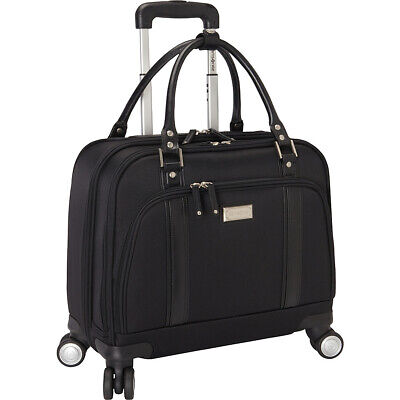 Samsonite Women's Laptop Spinner Mobile Office - Black Wheeled Business Case NEW