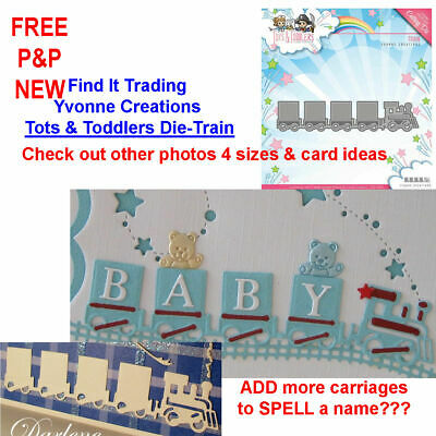 Find It Trading Yvonne Creations Tots /& Toddlers Die-Rectangle Frame