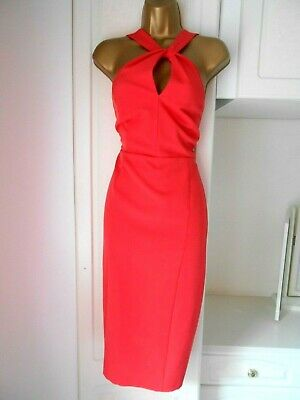 """Next Size Uk 12 Unlined Occasion Dress With Stretch  In Vg Con  Bust 36"""""""