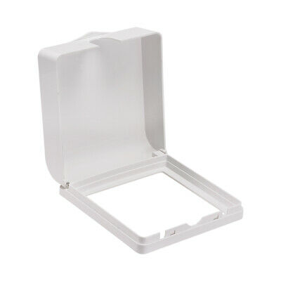 Weatherproof Outlet Cover In-Use Receptacle Protector 137x145x48mm White