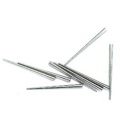 Tapered steel clock pin pack. 4 of 3 types. 12 in total. Hand retainer, dials