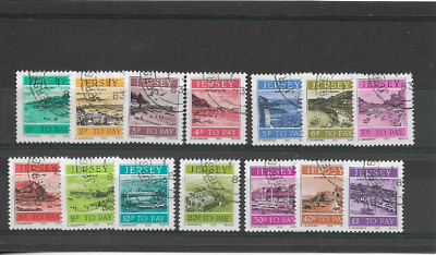 JERSEY 1982 Postage Due set - used