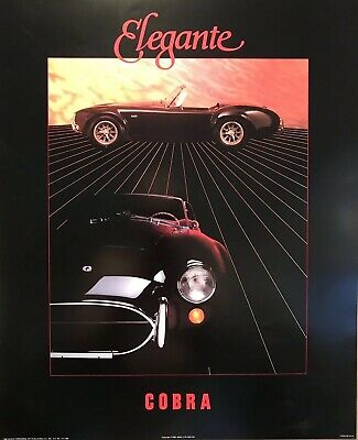 """Porsche/""""Everybody Wants One/"""" 8/""""x10/""""The Famous Car Poster From The 1980/'s"""