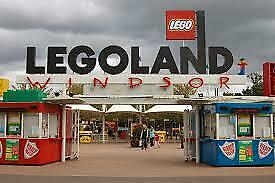 2 x  LEGOLAND WINDSOR RESORT TICKETS FOR  TUE 17TH SEPT