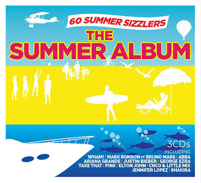 Various Artists : The Summer Album CD Box Set 3 discs (2019) Fast and FREE P & P
