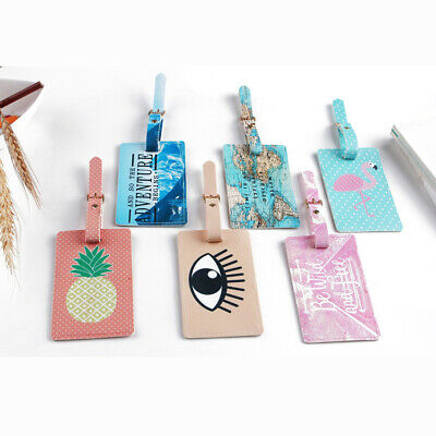 Lovely Travel Luggage Bag Tag Suitcase Baggage Office Name Address ID Label