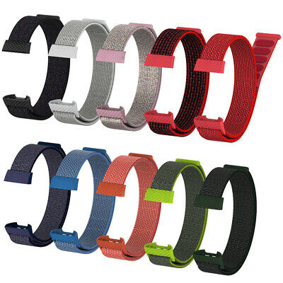 Nylon Fiber Band Wrist Strap Replacement Wristband For Fitbit Charge 3