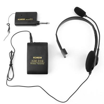 VHF Stage Wireless Lavalier Lapel Headset Microphone System FM Transmitter AE