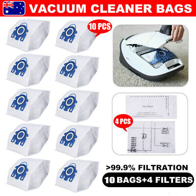 10 Vacuum Cleaner Bags Fit Miele Hyclean 3D GN C2 C3 S2 S5 S8 S5210 S5211 S8310