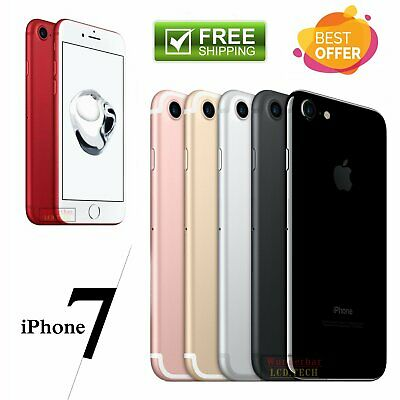 Apple Iphone 7 32Gb 128Gb 256Gb Handy Diamant Schwarz Rot Rose Gold Silber✔️Top