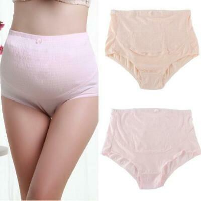 Over Bump Pregnancy Maternity Underwear comfy Brief Panties Cotton Support Tummy