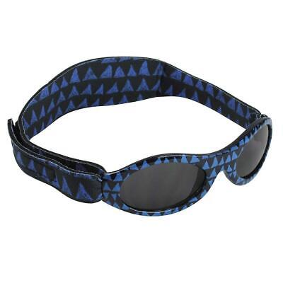Baby Banz Dooky Sunglasses 100% UVA/UVB Protection (Age 0-2yrs) Blue Tribal